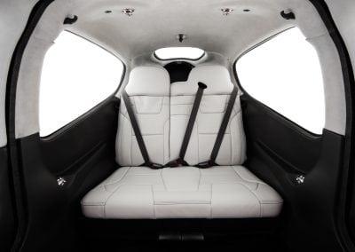 Platinum Lunar Grey Rear Seats